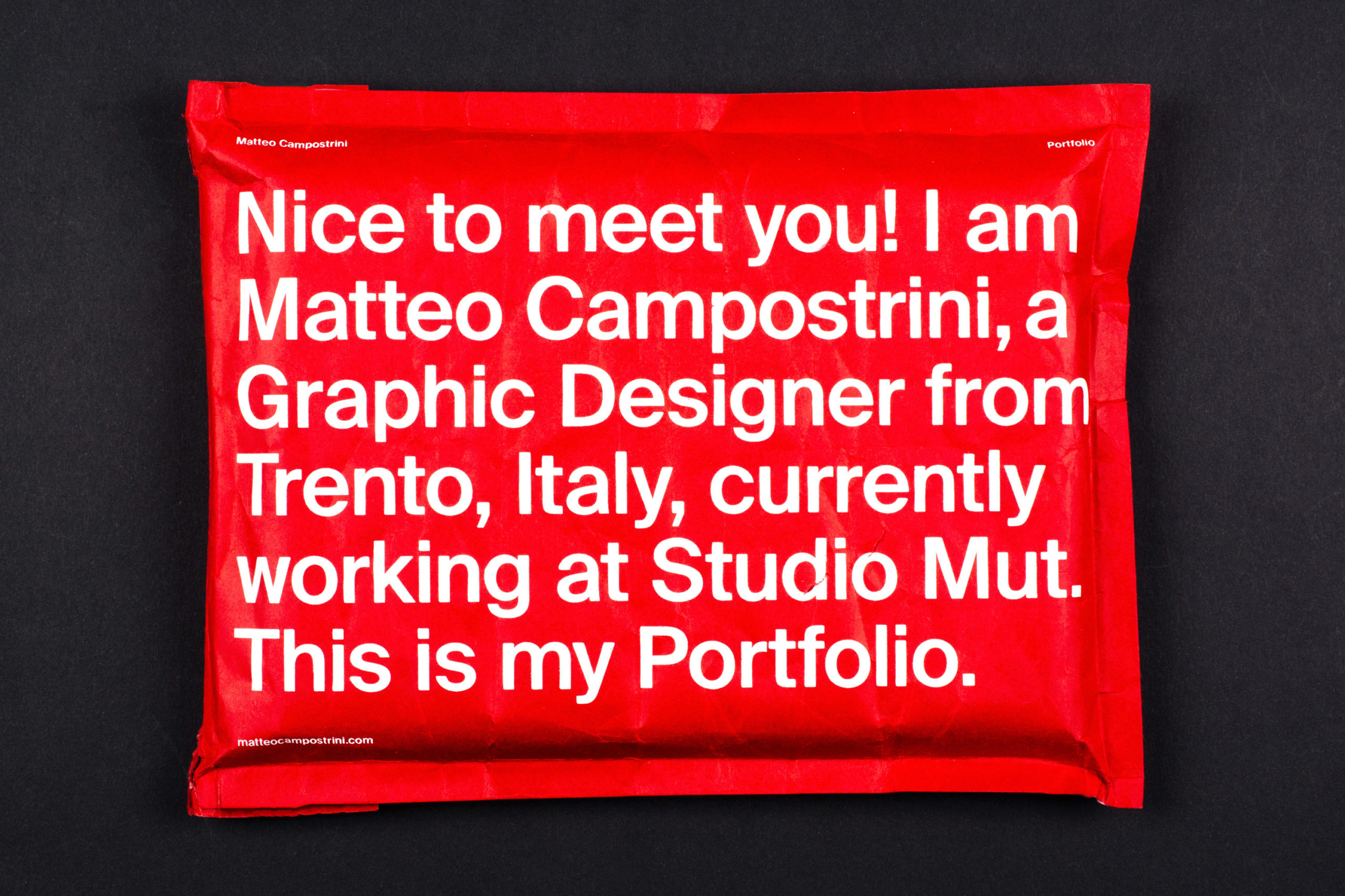 Best 5 projects by Matteo Campostrini