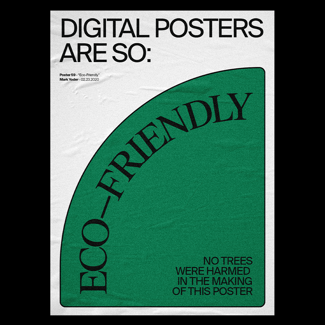 Daily Poster Series by Mark Yoder - Bounty Hunters